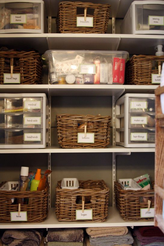 Cozy Find this Pin and more on storage, organization and cleaning even a slob bathroom cabinet organizers