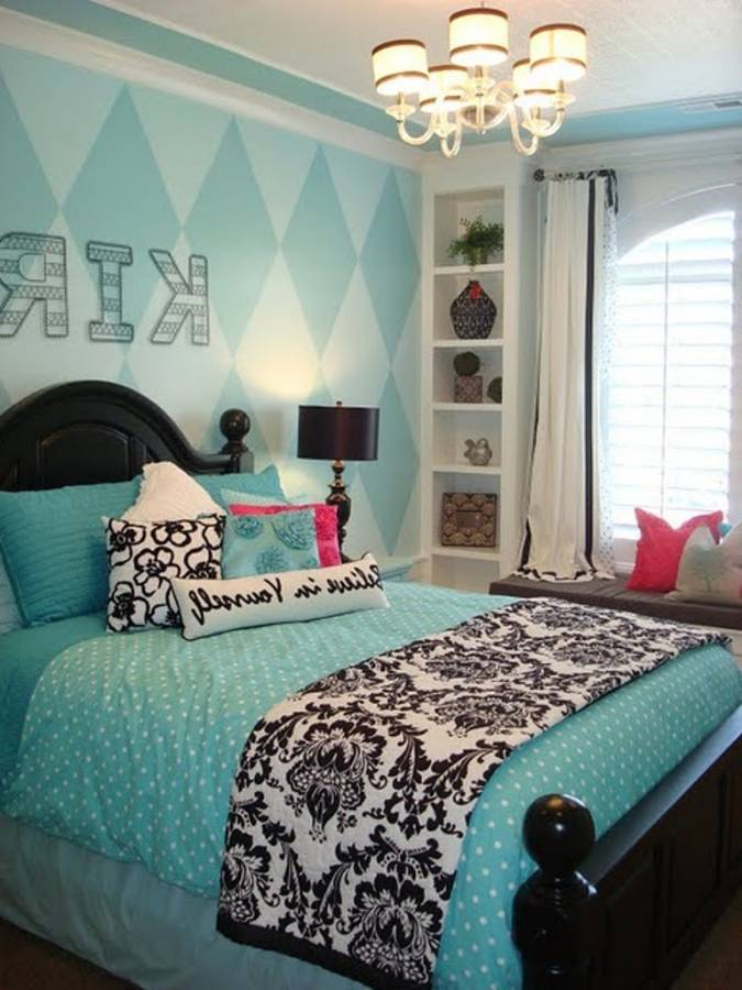 Cozy Inspiring Room Ideas Teenage Girls : Fascinating And Cool Teenage Girl themed room ideas for teenage girl