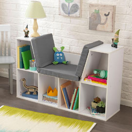 Cozy Kids Modern Bookshelves ». Modular Storage Systems bookshelves for kids