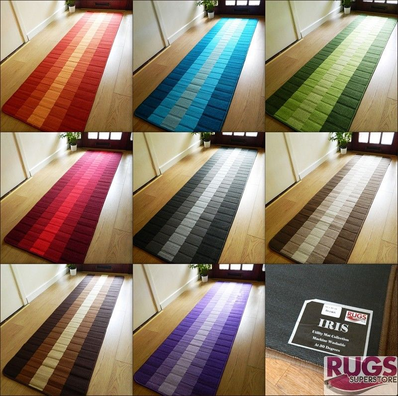 Cozy Machine Washable Non Slip Hall Runner Rugs Cheap New Long Easy Clean hall runner rugs
