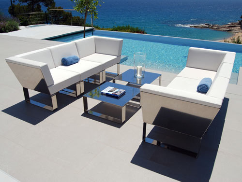 Cozy Modern Outdoor Patio Furniture: Nautico by Ubica modern outdoor patio furniture
