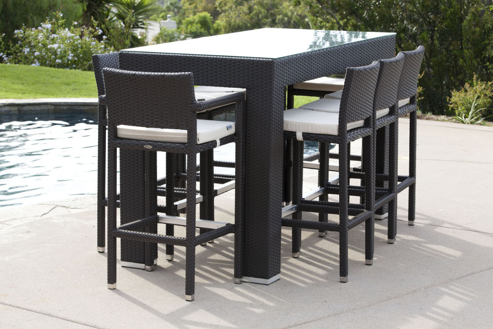 Cozy Outdoor Furniture Sets - Outdoor Bar Sets - Pandora Bar Set For 8 outdoor bar sets clearance