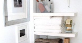 Cozy Perfect for that awkward space by the toilet Oh, my! This DOES look bathroom organizers for small bathrooms