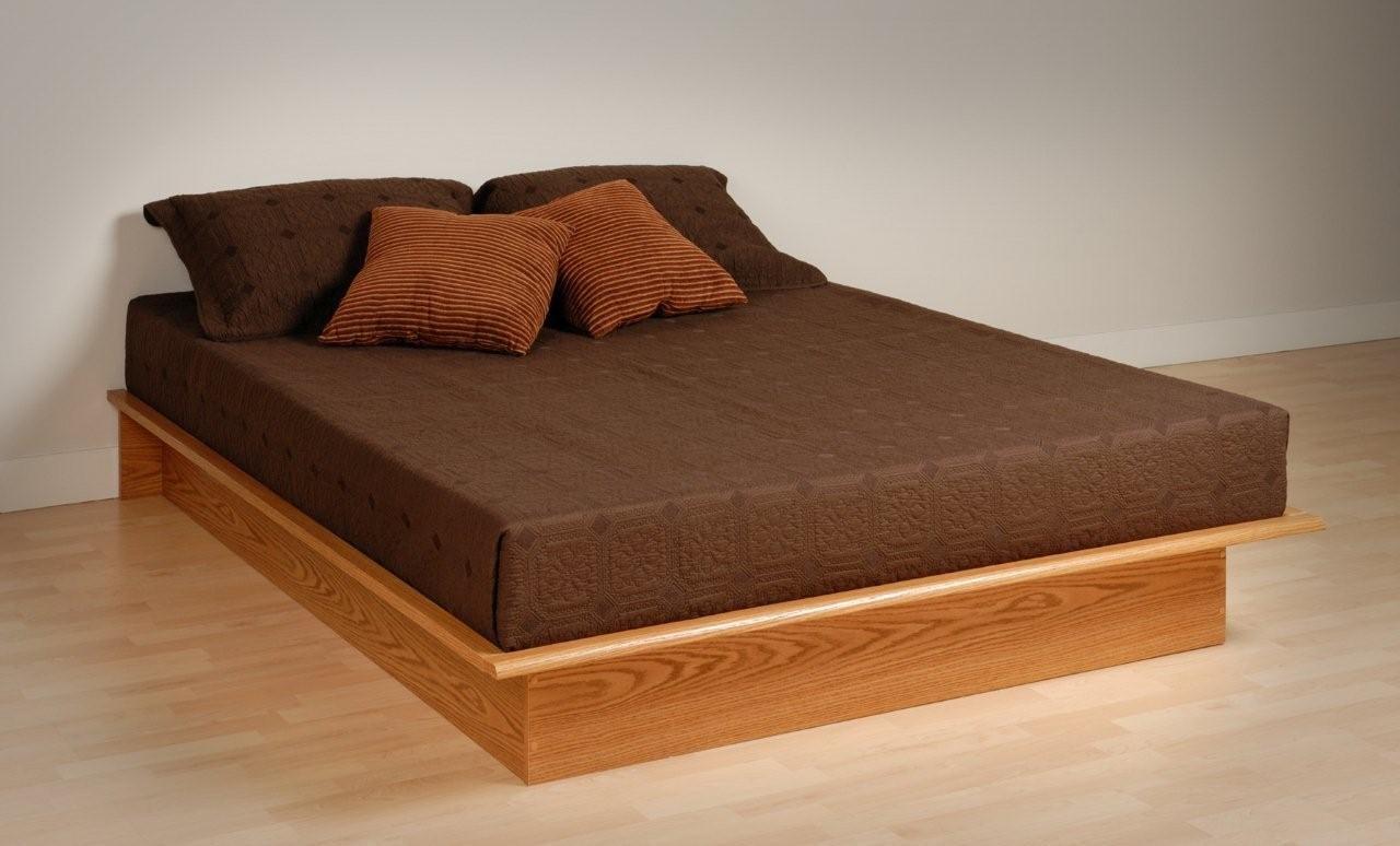 Cozy Platform Bed Frame | Platform Bed Frame Building Plans - YouTube platform bed frame
