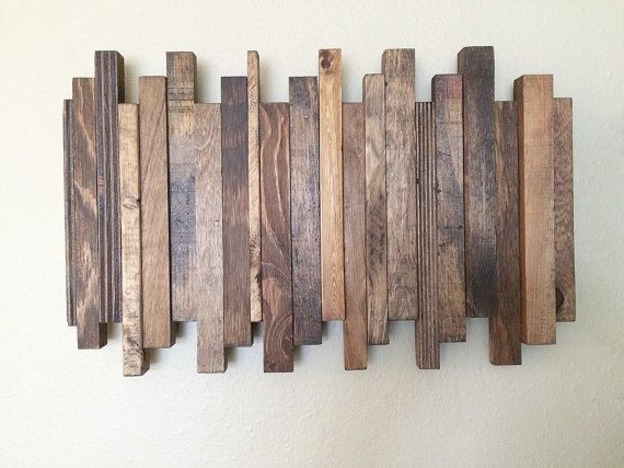 Cozy Reclaimed Wood Wall Art. Reclaimed Wood Art. Staggered Reclaimed Wood Art. reclaimed wood wall art