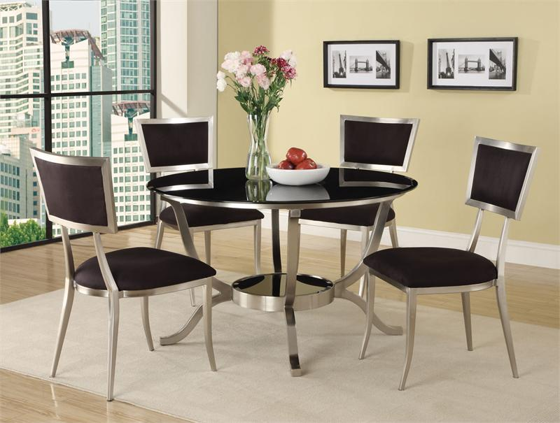 Cozy Round Contemporary Dining Room Sets contemporary round dining room sets