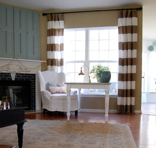 Striped Curtains: Perfect  For Any Place