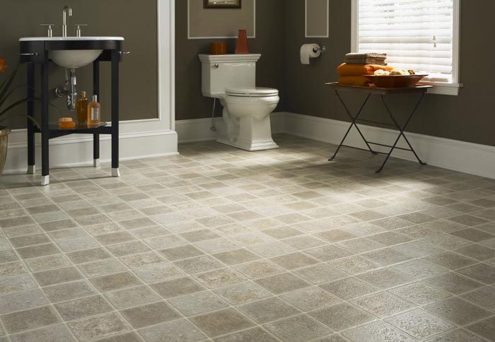 Cozy Shop Vinyl Flooring at Lowes.com vinyl flooring bathroom