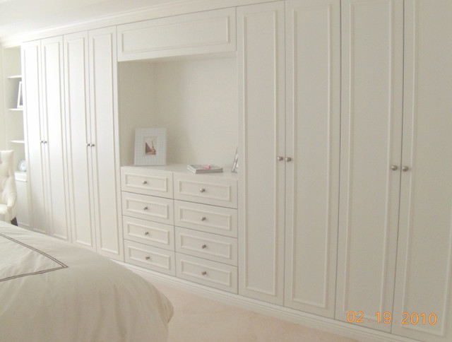 Elegant Custom Wardrobe Closet contemporary-closet custom built wardrobe closets