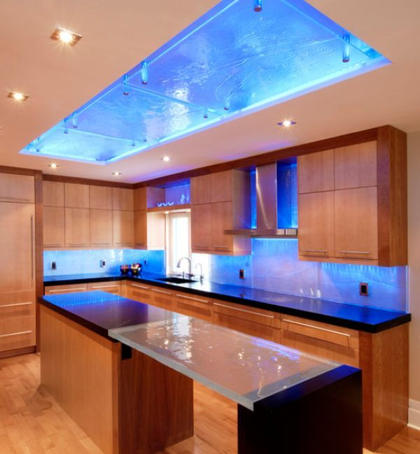 Cute 15 Adorable LED Lighting Ideas For The Interior Design led kitchen lightings