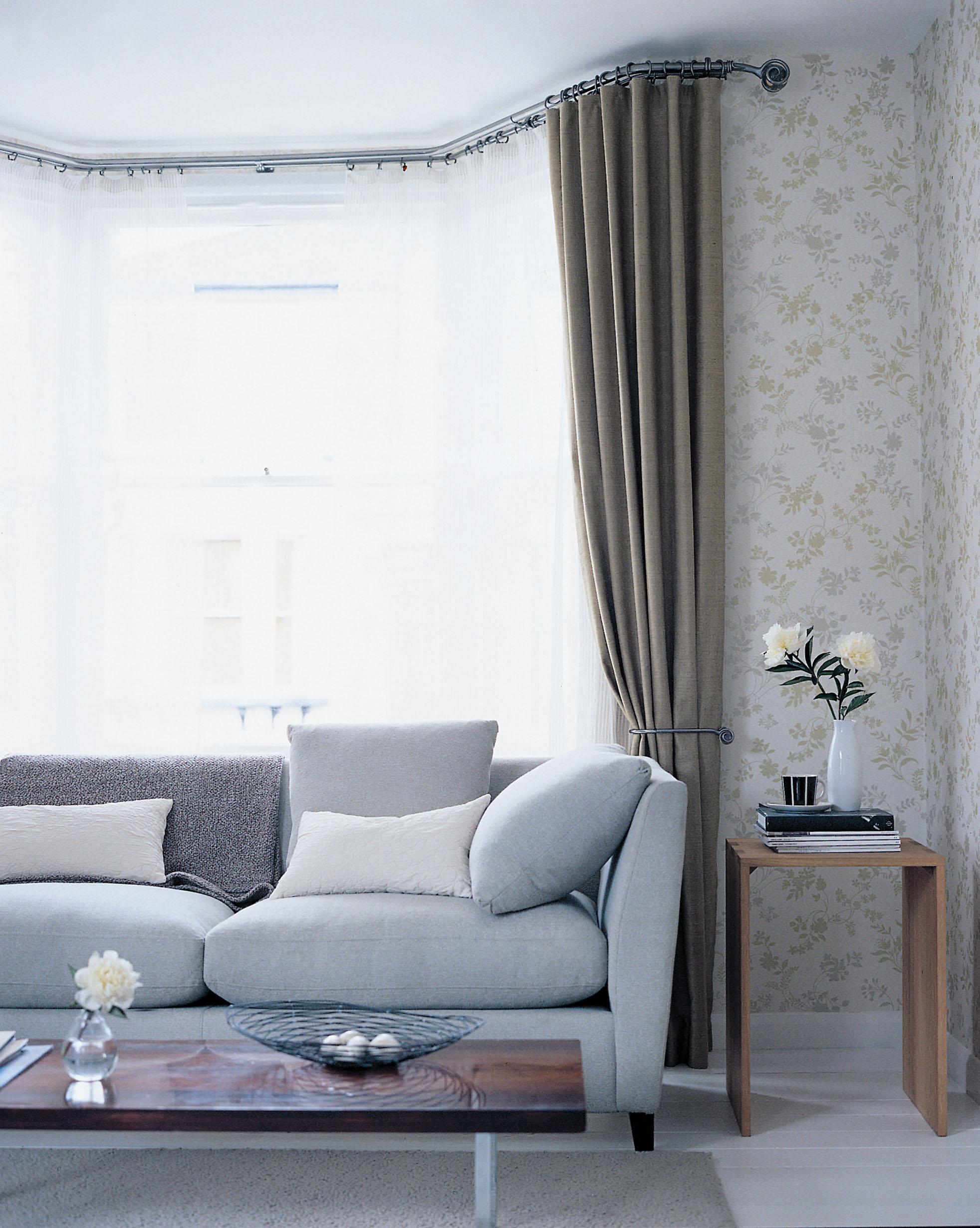 Cute 25+ best ideas about Bay Window Curtain Rail on Pinterest   Bay window square bay window curtains