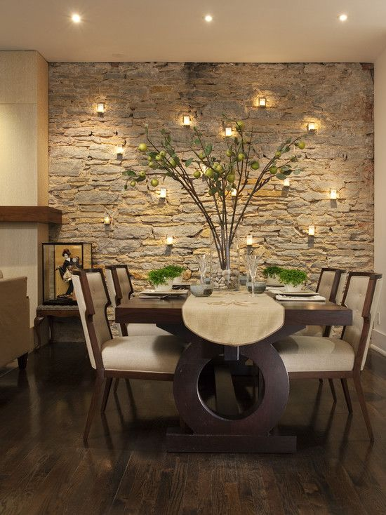 Cute Bedroom Accent Walls to Keep Boredom Away. InteriordesignHome IdeasDécor ... modern dining room design ideas