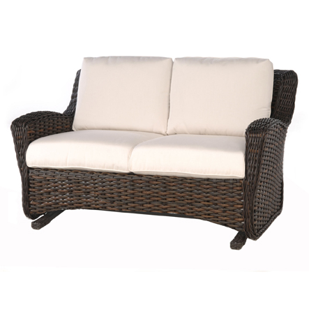 Cute DREUX LOVESEAT GLIDER patio glider loveseat
