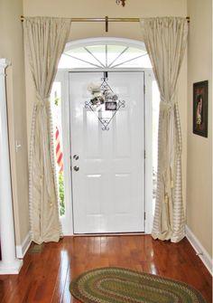 Cute Front door curtain thermal front door curtain