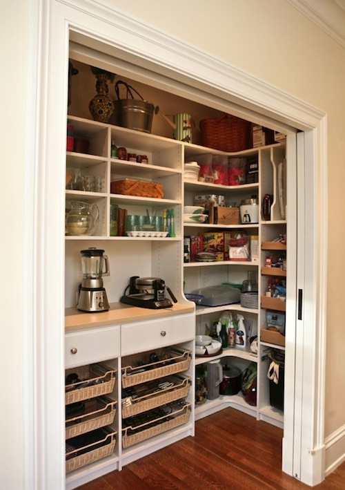 Cute How to Create More Space in Your Small Kitchen Pantry kitchen pantries for small kitchens