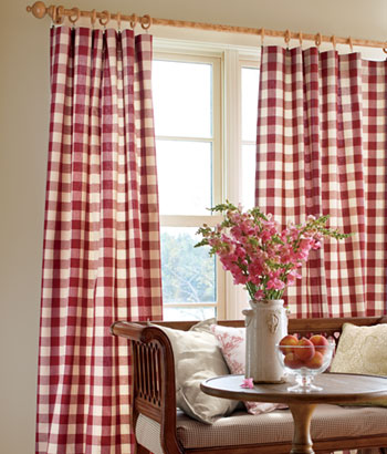 Cute (left): Sanctuary Rod Pocket Curtains, (middle): Ticking Stripes Rod Pocket  Curtains and french country curtains