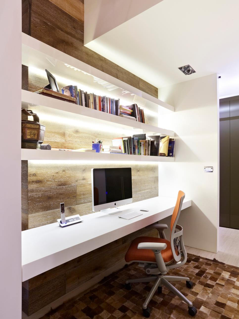 Cute Modern Home Offices | HGTV modern home office