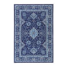 Cute Mohawk Home - Parquet Indigo Rug, ... blue oriental rugs