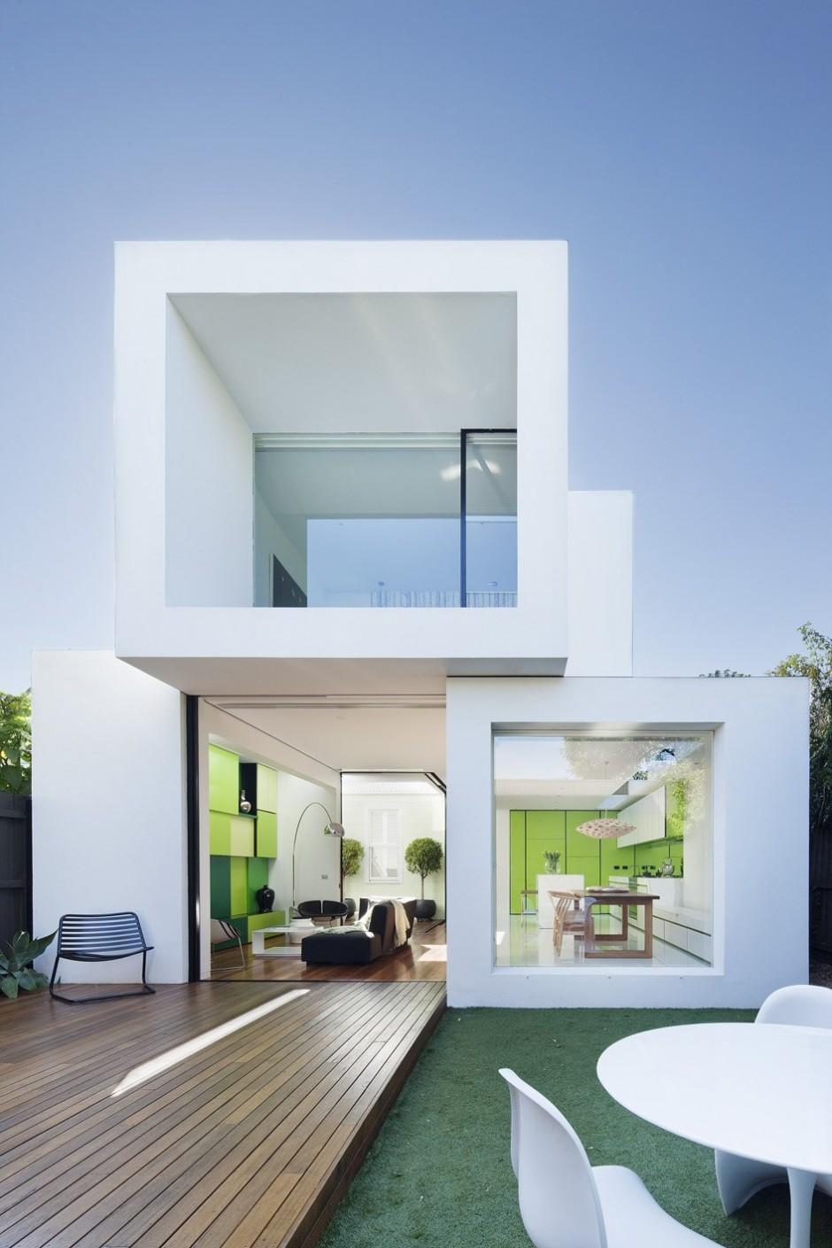 Cute Small minimalistic home architecture house design