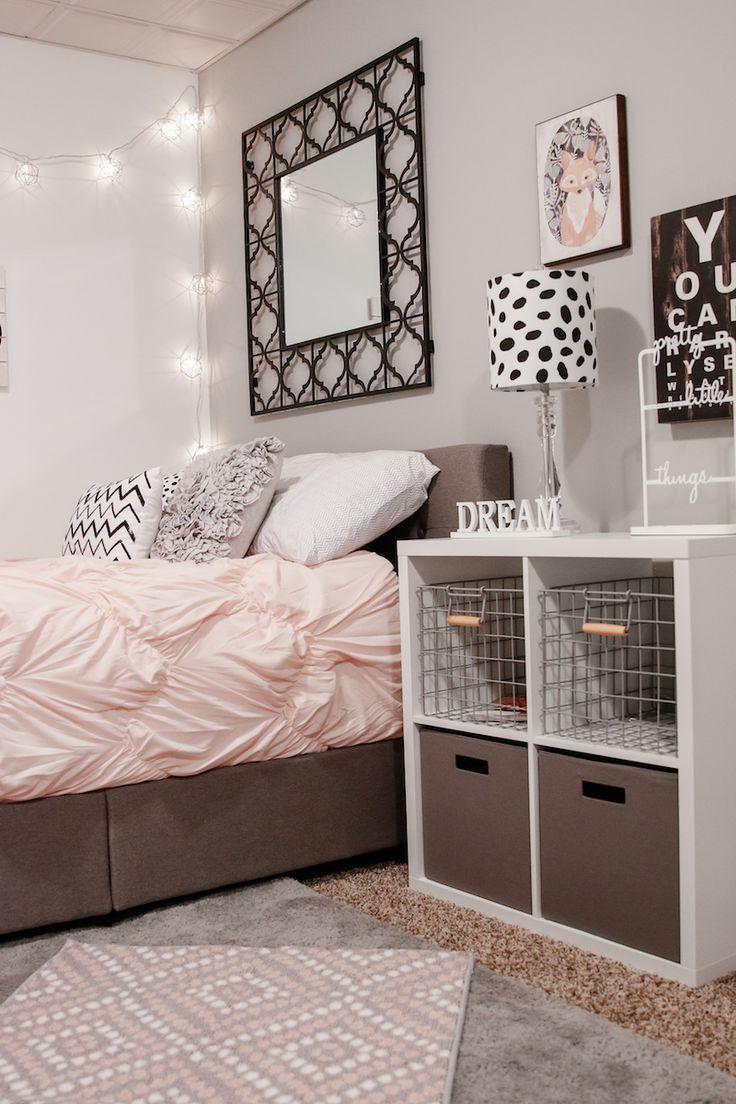 Cute TEEN GIRL BEDROOM IDEAS AND DECOR teenage girl room accessories