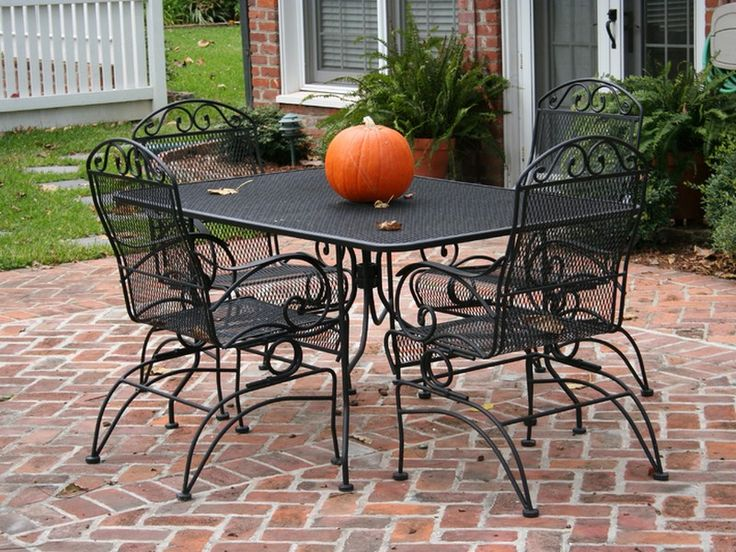 Cute Wrought Iron Patio Furniture Lowes wrought iron patio table