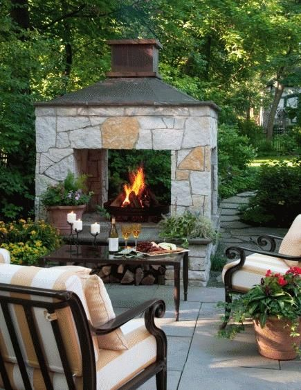 Elegant 20 Outdoor Fireplace Ideas diy outdoor fireplace