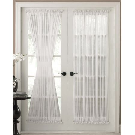 Cozy The Reverie Semi-Sheer Door Panel Curtains are available in White o. door panel curtains
