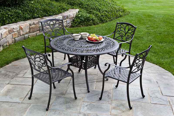 Elegant 18. Surprising Metal Outdoor Furniture metal patio table