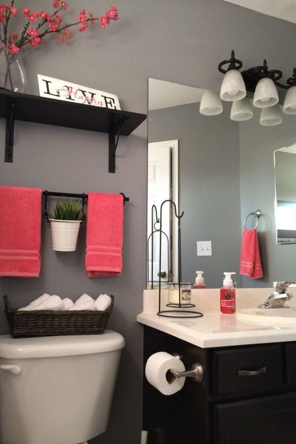 Elegant 3 Tips: Add STYLE to a Small Bathroom bathroom decor ideas for small bathrooms