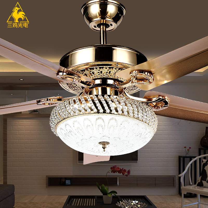 Elegant Aliexpress Buy Three Chicken Photoelectric Luxury Decorative decorative ceiling fans for bedroom