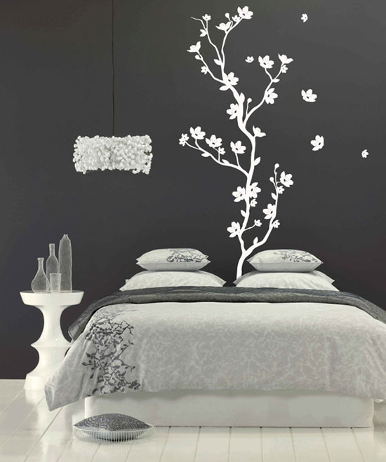 Elegant Beautiful-Wall-Stickers-Wall-Art-Decals-to-decor- bedroom wall art stickers