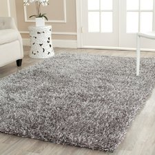 Elegant Cheevers Handmade Gray Area Rug thick plush area rugs