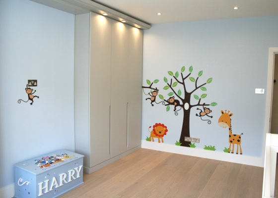 Elegant Childrenu0027s Bedrooms complete fitted bedrooms