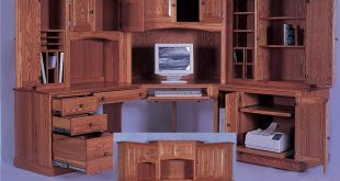 Elegant Corner Computer Desk with Hutch corner computer desk with hutch