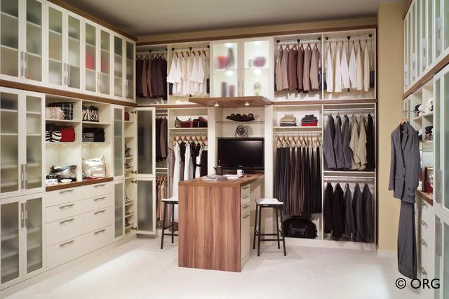 Elegant Custom Walk In Closet contemporary-closet custom walk in closets