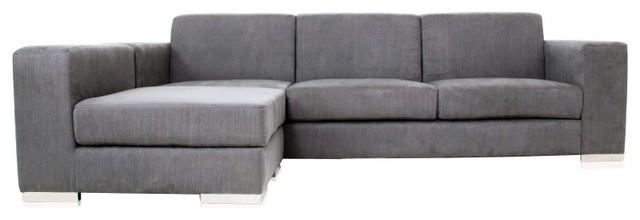Elegant grey-sectional-sofa-4 modern gray sectional sofa