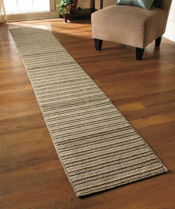 Elegant hallways · extra long non slip runner rug striped washable durable 60 long runner rugs