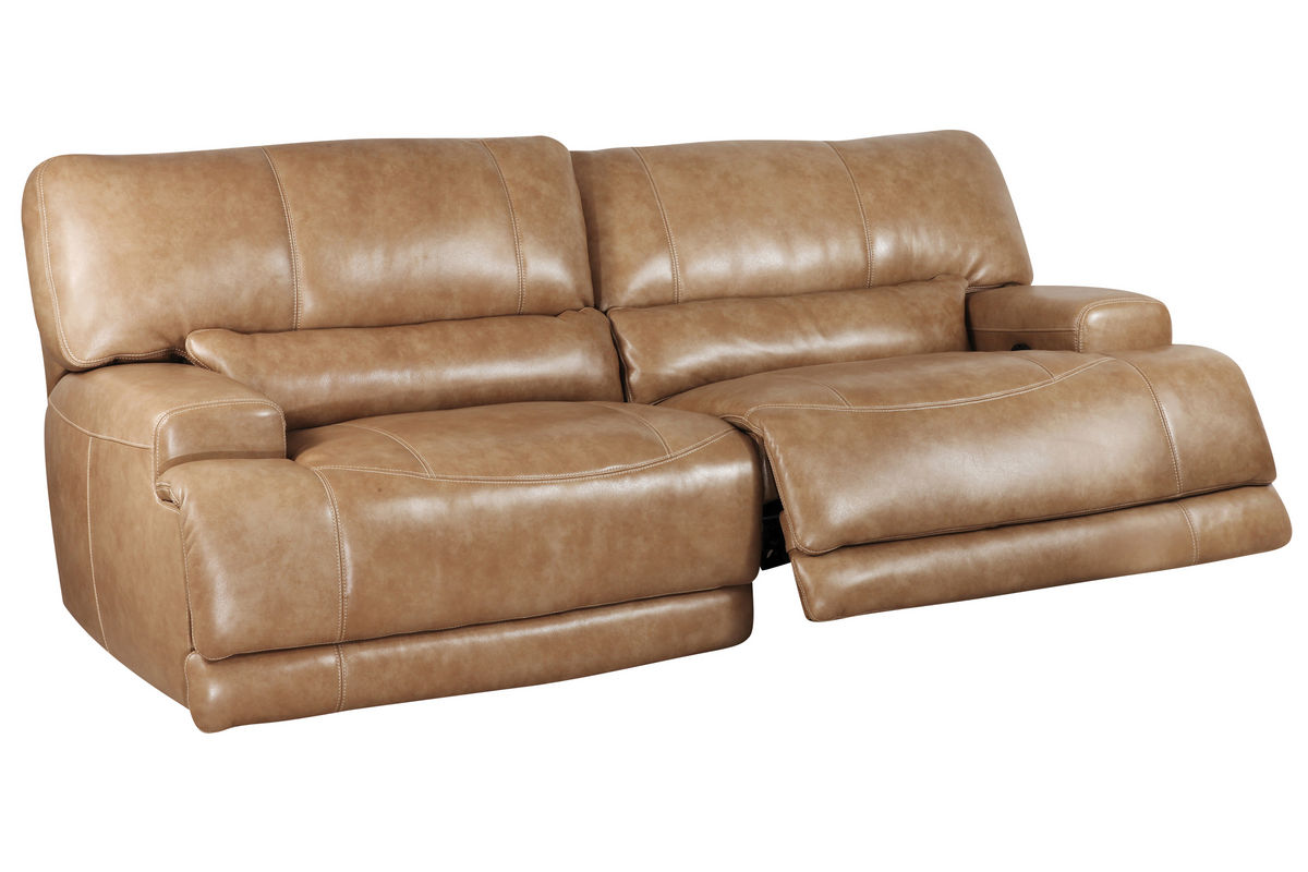 Elegant Hamlin Power Reclining Leather Sofa from Gardner-White Furniture reclining leather sofa