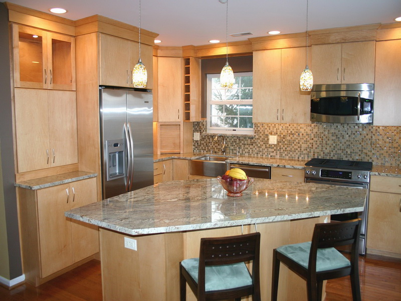 Elegant Image of: Ideas For Kitchen Islands In Small Kitchens Style kitchen designs with islands for small kitchens