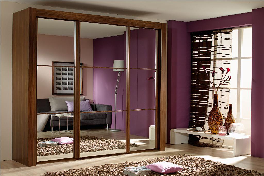 Elegant Image of: Mirror Sliding Door Wardrobes Uk 1 free standing sliding wardrobes
