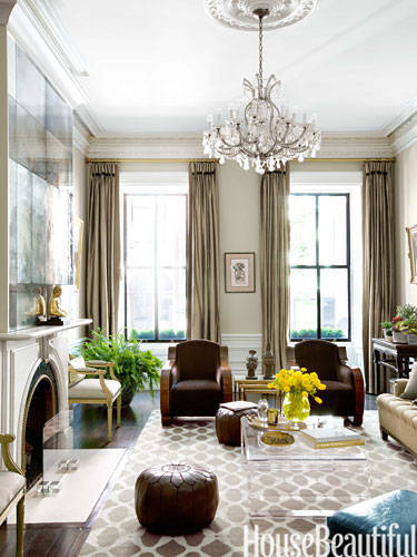 Trending Relaxed Modernity elegant living rooms