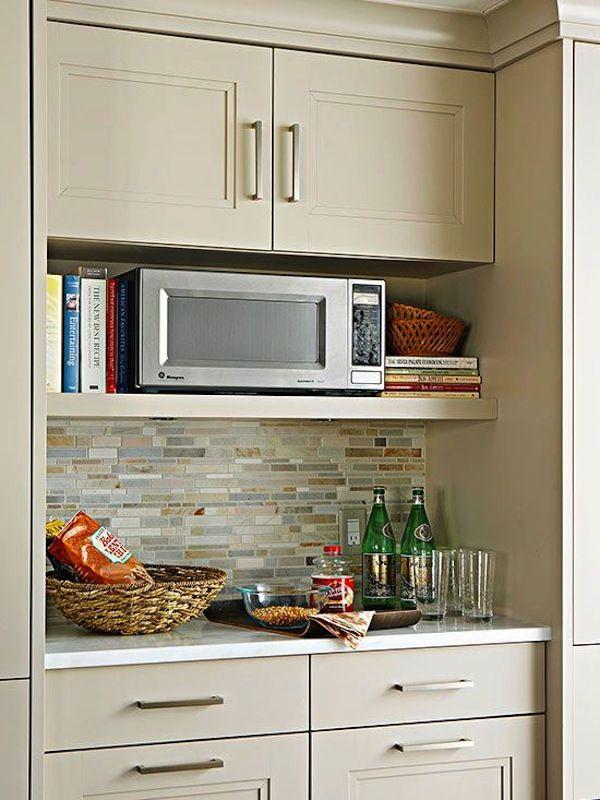 Elegant microwave shelf 6 More wall mounted microwave shelf