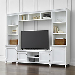 Elegant Modular Storage living room cabinets