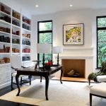 Pristine White Bookshelves