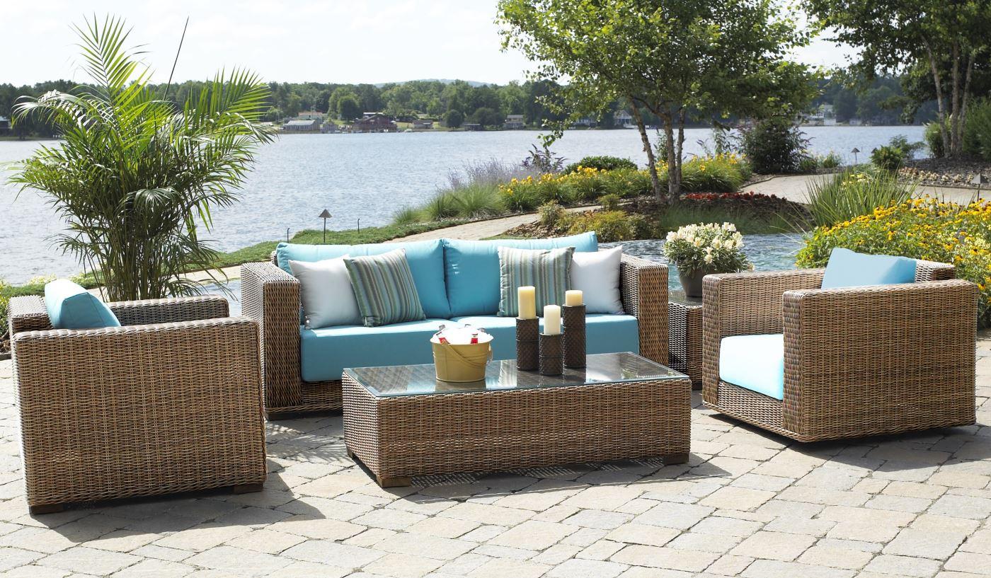 Elegant Outdoor Patio Wicker Furniture | Santa Barbara wicker outdoor furniture