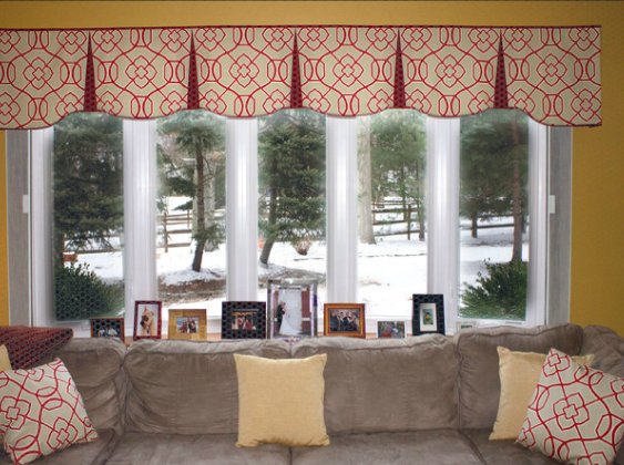 Elegant Paired With Our Bamboo Tab Pinnacle Panels Or Our Bamboo Stages. It living room valances