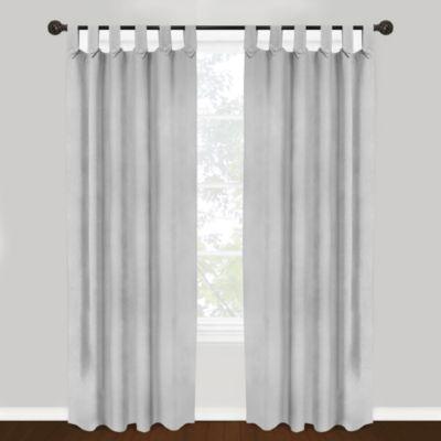 Elegant Park B. Smith Vintage House Brighton Tab Top 84-Inch Window Curtain Panel in tab top curtains