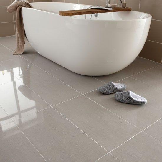 Elegant Regal porcelain from Topps Tiles | Bathroom flooring | PHOTO GALLERY | floor tiles for bathrooms