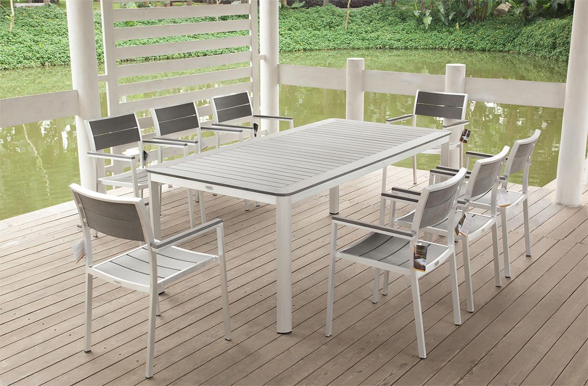 Elegant Related image Of White Aluminum Outdoor Furniture modern aluminum patio furniture