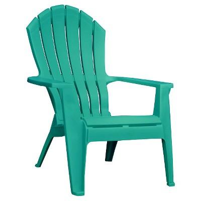 Elegant Resin Adirondack Chair - Turquoise plastic adirondack chairs